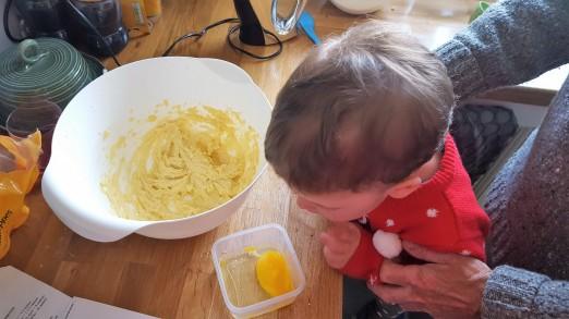 adding eggs 1