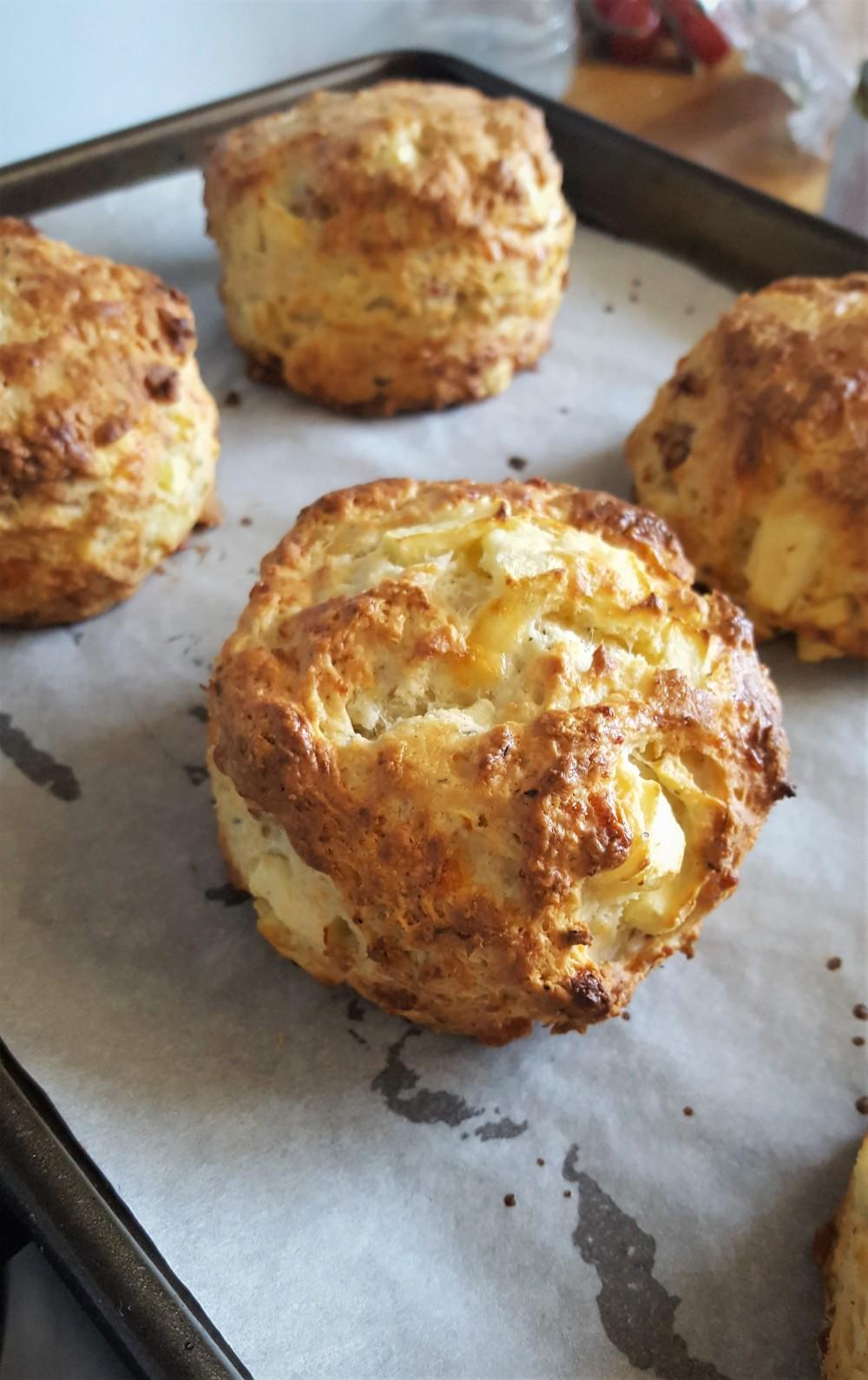 cooked scones